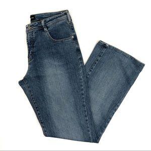 Express vintage high rise blue jeans - 11/12